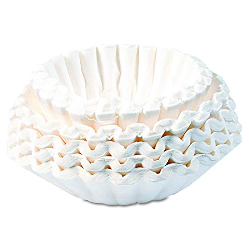 Bunn 1M5002 Commercial Coffee Filters, 12-Cup Size (Case of 1000) (CASE of 5000) by  (Image #1)
