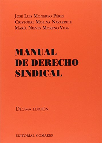 Descargar Libro Manual De Derecho Sindical Jose Luis Monereo Perez