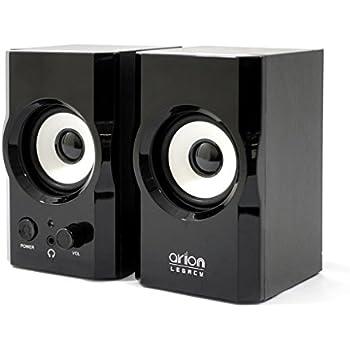 Amazon.com: Arion Legacy AC Powered Laptop 2.0 Speakers