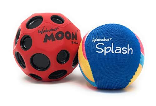 Moon Street Ball & Waboba Splash Water Ball 2 Pack ()