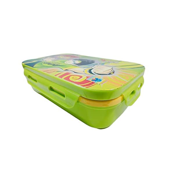A K Enterprise Lock & Seal Plastic Lunch Tiffin Box for Children's Kids School Students Workers