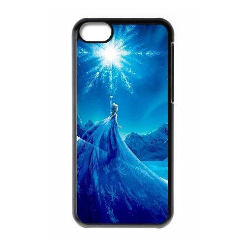 Frozen XQ57CL5 cas d'coque iPhone de téléphone cellulaire 5c coque C4FB4T7XB
