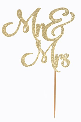 The 8 best wedding cake toppers gold