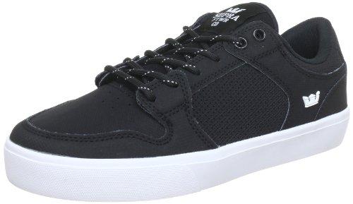 Supra Menns Vaider Lc Sneaker I Svart-hvitt 7,5 M Oss
