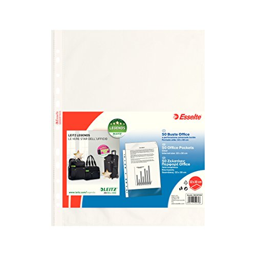 The Universal Copy Safe Esselte Office 22 X 30 Cm Envelopes Or Smooth Lucent Drilling 509700 (.Conf 50)