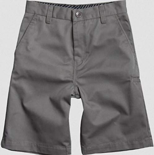 Essex Walkshort - Fox Head - Kids Big Boys' Essex Solid Walkshort, Grey, 28
