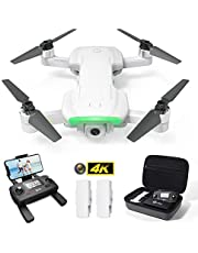 Holy Stone HS510 GPS Drone with 4K UHD Camera 5G FPV Live Video for Adults and Beginners, Foldable RC Quadcopter with Brushless Motor,Return Home, Follow Me, Headless Mode, Long Flight Time, Includes Carring Case