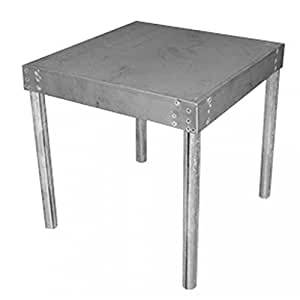"""Jones Stephens Corporation J36200 Water Heater Stand, 18"""" Square x 17"""" High, Small,"""