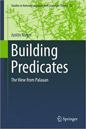 Book Building Predicates: The View from Palauan (Studies in Natural Language and Linguistic Theory)