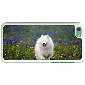 Lmf DIY phone caseCustom Fashion Design Apple iphone 4/4s Back Cover Case Personalized Customized Diy Gifts In eskimo dog WhiteLmf DIY phone case