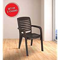 LivShine Nilkamal Plastic Chair Set of 2