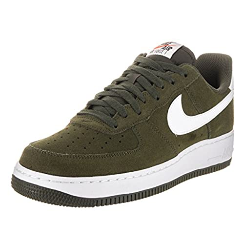 Nike Air Force 1 Menu0027s Shoe Cargo Khaki/White 820266 301 (9.5 D(M) US)