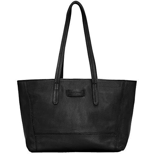 De Essential black Berlin Hombro Mujer Bolsos Y Shopper Negro Medium Shoppers Liebeskind 0P6dq50w