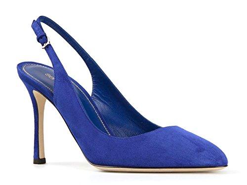 sergio-rossi-womens-medium-blue-chamois-leather-slingbacks-shoes-size-41-it