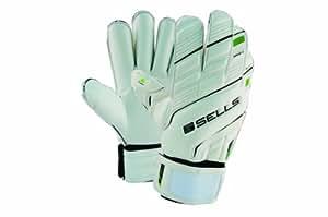 Sells Goalkeeper Products Wrap Elite Terrain Hardground Goalie Gloves, White, 8