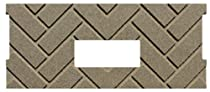 PelletStovePro - Whitfield HERRINGBONE Firebrick Cerra Board for Quest Plus - 17250029