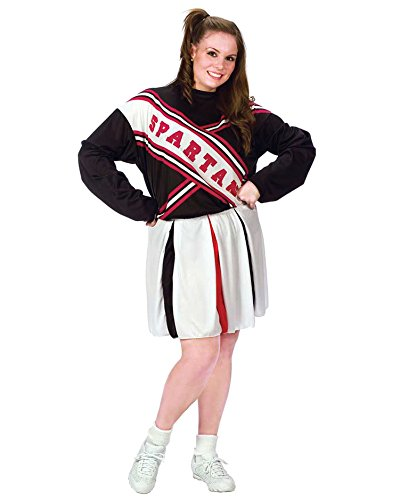 Plus Size Cheerleader Costume Spartan Girl Sizes: One Size]()