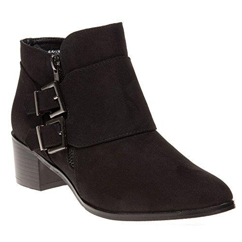 Sole Carrie Femme Boots Noir Noir Sz1OLt7Eq