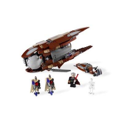 LEGO Star Wars Set 7752 Clone Wars Count Dookus Solar Sailer: Amazon ...