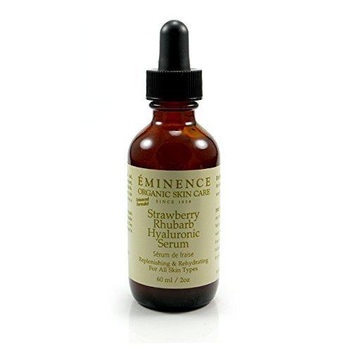 Eminence Organic Skin Care Strawberry Rhubarb Hyaluronic Serum, 2 Ounce