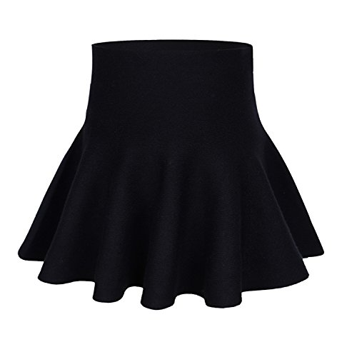 storeofbaby Little Big Girls Casual Pleated Mini Skirt for Spring Autumn (9-10 Years/Asian Size 4/Fits 140 cm Tall, -