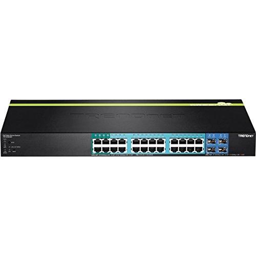 TRENDnet TPE TPE-2840WS 28-Port Gigabit Web Smart PoE+ Switch - T - TPE-2840WS