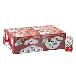 Sanpellegrino Blood Orange Italian Sparkling Drinks, 11.15 fl oz. Cans (24 Count)