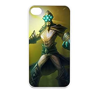 MasterYi-004 League of Legends LoL case cover for Apple iPhone 4 / 4S - Hard White