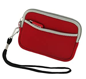rooCASE Neoprene Sleeve (Red) Carrying Case for Nikon Coolpix S3100 Digital Camera