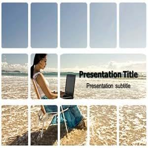Outdoor Powerpoint Template | Outdoor Templates | Beach Powerpoint Templates | Outdoor Backgrounds PowerPoint Templates