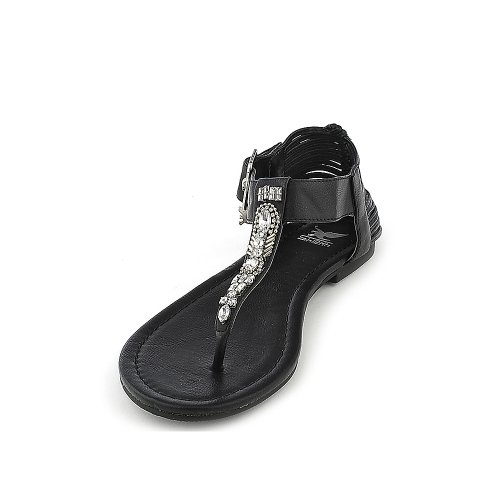 Shiekh Womens GO-S Sandal - Black Size 7.5