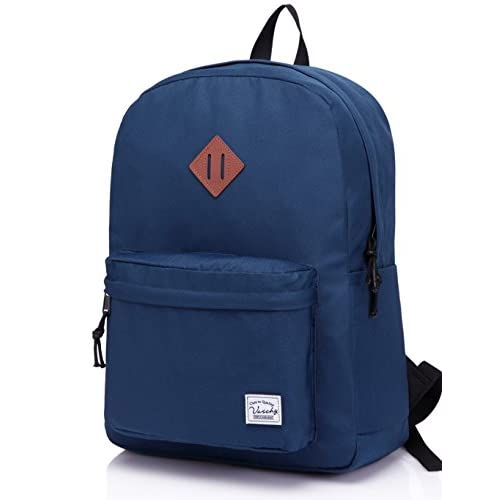 Lightweight Backpack for School, VASCHY Classic Basic Water...