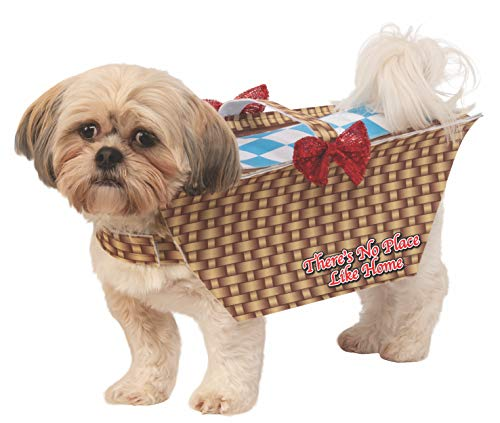 Dorothy's Dog Wizard Of Oz (Rubie's Wizard of oz Toto Basket Pet Costume,)