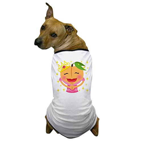 CafePress - Emoji Peach Princess - Dog T-Shirt, Pet Clothing, Funny Dog (Princess Peach Dog Costumes)