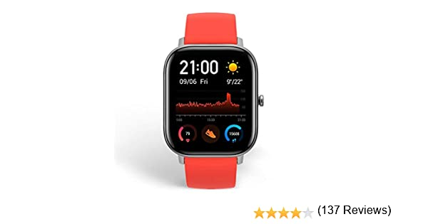 Amazfit GTS Smartwatch Fitness and Activities Tracker with Built ...