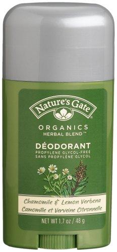 Nature's Gate Organics Deodorant, Chamomile & Lemon Verbena, 1.7 Ounces (Pack of (Verbena Deodorant)