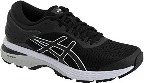 ASICS Gel-Kayano 25 Women's Shoe, Black/Glacier Grey, 5.5 B US by ASICS (Image #1)