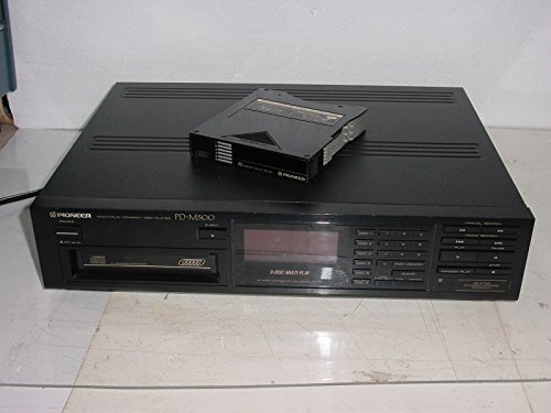 Vintage Pioneer PD-M500 6-CD Compact Disc Changer Player - 6cd Player