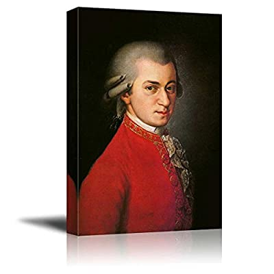 Beautiful Style, With a Professional Touch, Portrait of Wolfgang Amadeus Mozart Inspirational Famous People Series