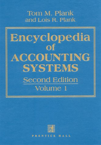 Encyclopedia of Accounting Systems ( 2-volume set )