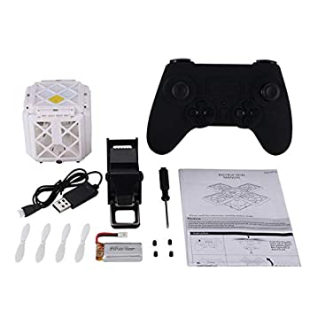 414 2.4G Selfie FPV Foldable RC Drone Quadcopter with Altitude Hold 0.3MP HD Wifi Camera Headless Mode 3D Flips One Key Return 1