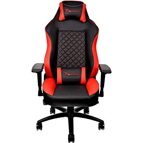 Thermaltake Tt Esports GT Comfort C500 Big & Tall Racing Bucket Seat Style Ergonomic Gaming Chair Black/Red GC-GTC-BRLFDL-01 Thermaltake USA Direct
