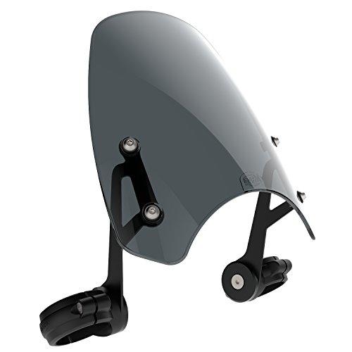 (Dart Classic flyscreen for Harley-Davidson FXCWC Rocker motorcycle windscreen (Dark Tint))