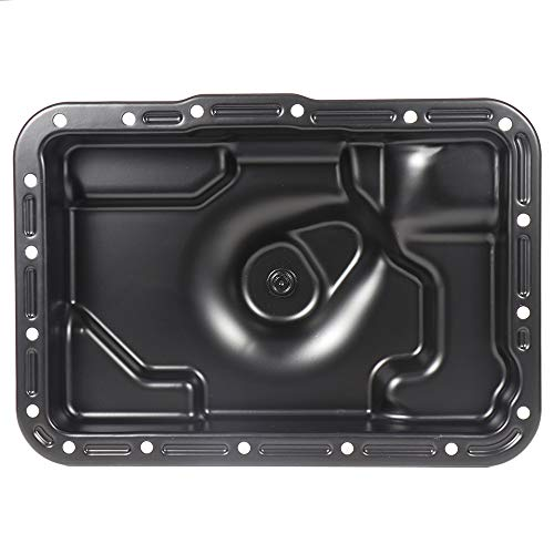 SCITOO 265-831 Engine Oil Pan Steel Assembly Fits 85-07 2.3L 3.0L 4.0L Cummins Diesel Ford Bronco Explorer Ranger Mercury Mountaineer Pickup Truck
