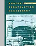 Modern Construction Management, McCaffer, Ronald, 0632038977