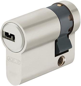 ABUS EC550 Halbzylinder Schließzylinder 50//10mm mit 3 bis 10 Schlüssel