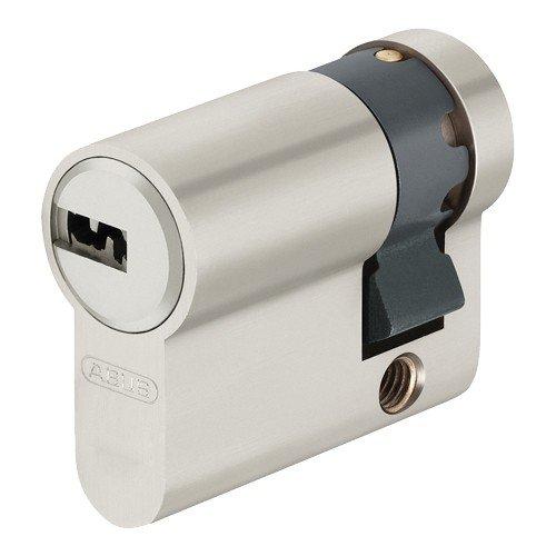 Abus demi-cylindre profilé, LG 30/10mm m.3Clé, Clé réversible, 1pièce, EC550NP LG 30/10mm m.3Clé Clé réversible 1pièce