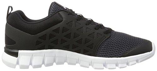 Reebok Bd5537, Zapatillas de Trail Running Unisex Adulto Varios colores (Lead /         Black /         White /         Pewter)