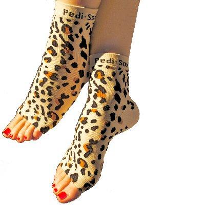 Pedi Sox Leopard 1 pair