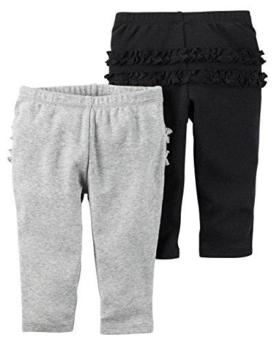Infant Black Pants - 8